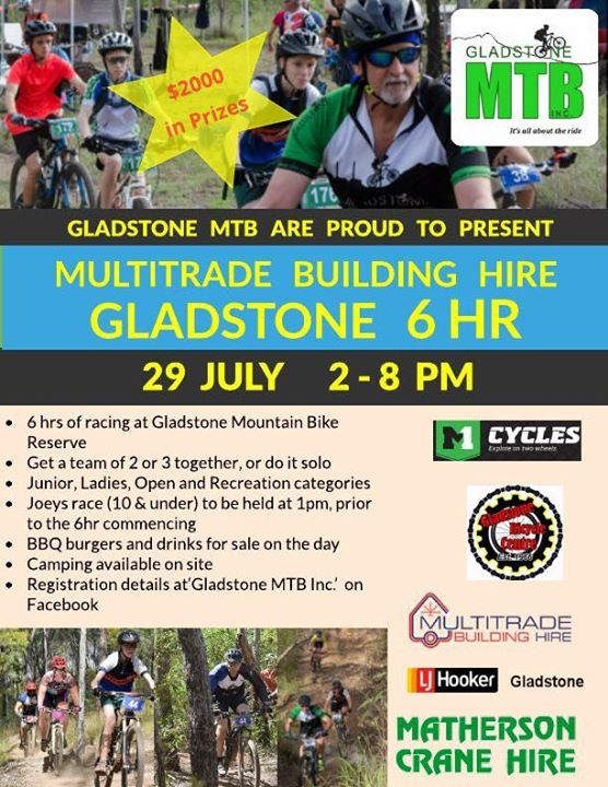 Multitrade Building Hire GMTB 6hr XC Race