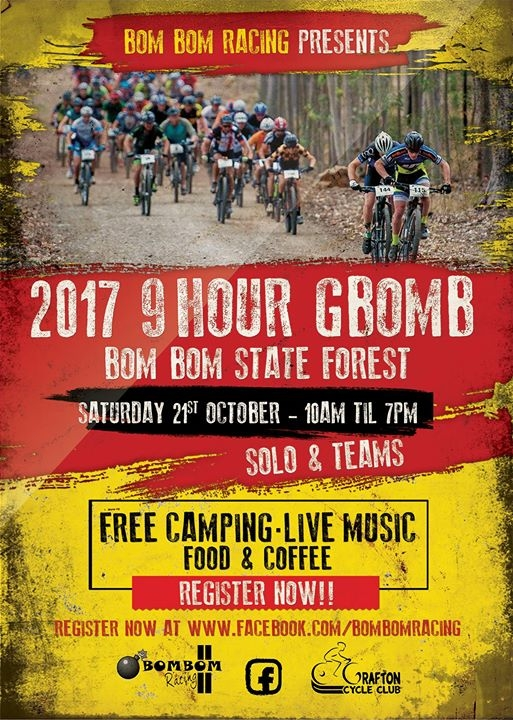 2017 GBOMB 9hr MTB Race