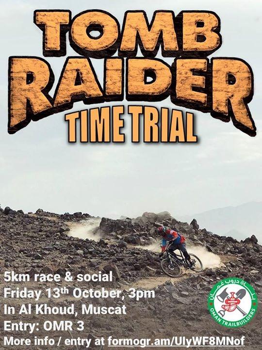 Tomb Raider mtb Time Trial