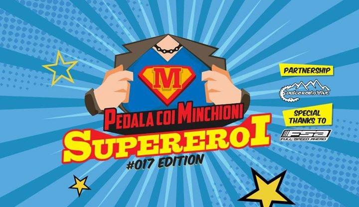 Pedala coi Minchioni 2017 - Super Eroi