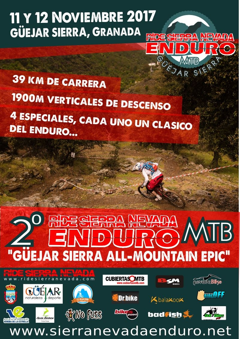 Ride Sierra Nevada Enduro 2017 - Guejar Sierra All-Mountain Epic