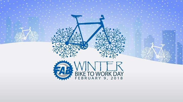 Winter Bike To Work Day 2018