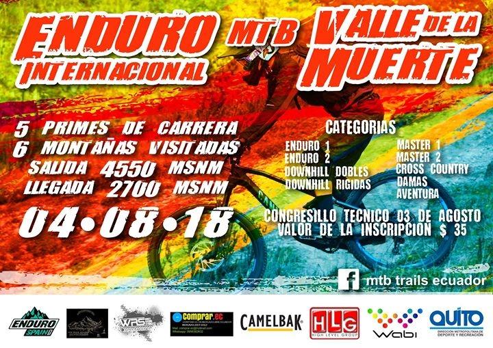 Enduro Mtb Internacional Valle De La Muerte 2018