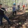 Crooked Creek Trail Build Weekend