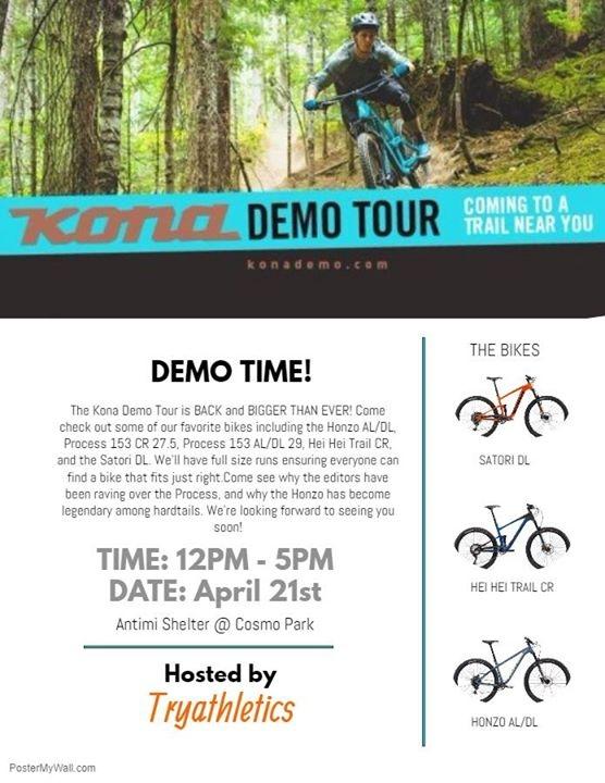 Kona Demo Tour