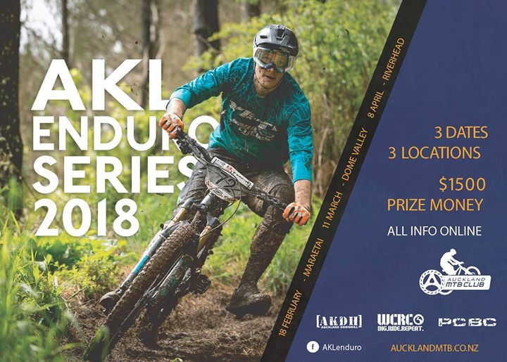 Auckland Enduro Series 2018 Round 3 Riverhead Forest