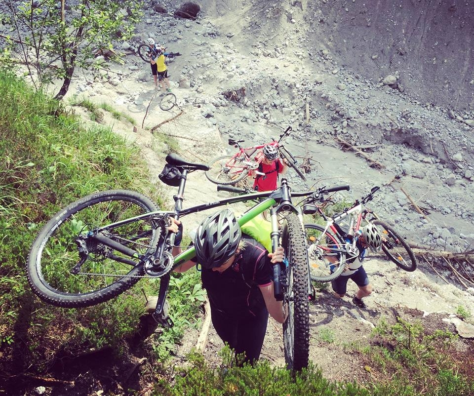 Trail Workshop/Technikkurs Teil II