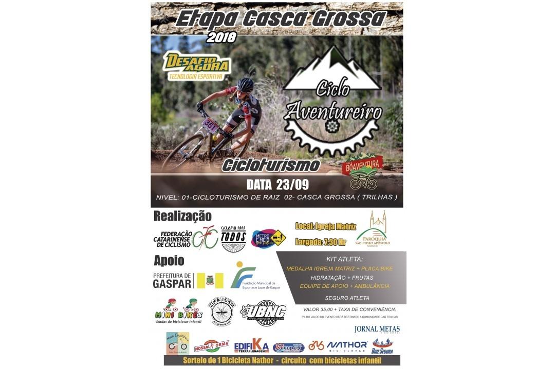 Pedal Ciclo Aventureiro - Etapa Casca grossa