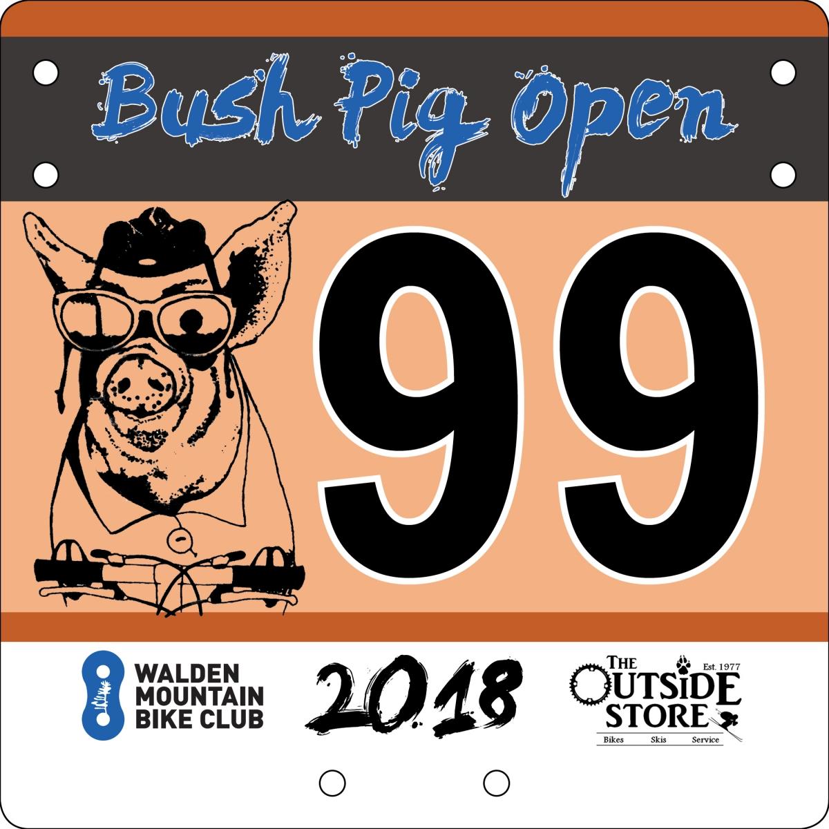 Bush Pig Open Evening Race - July