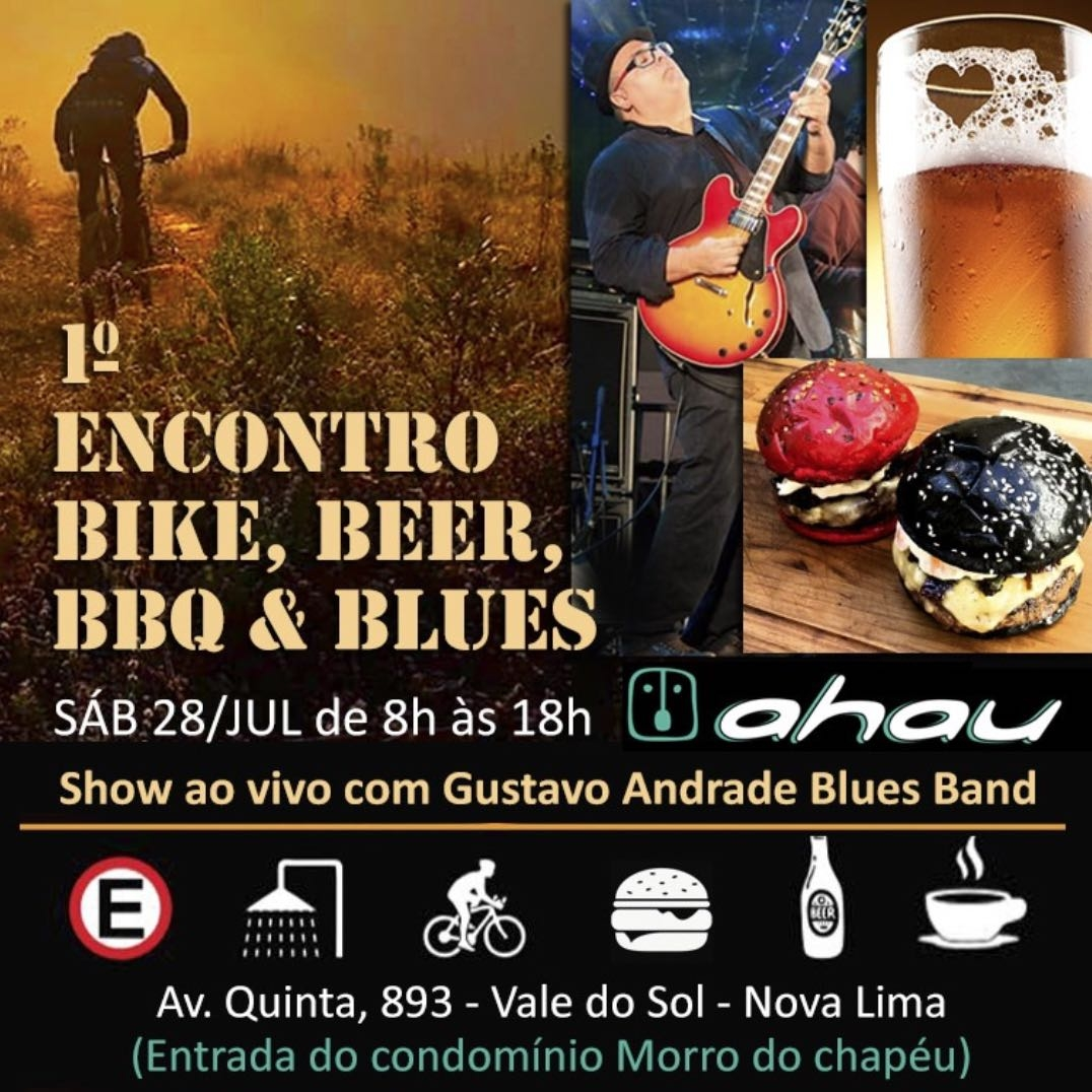 1º Encontro BIKE, BEER, BBQ e BLUES!!!