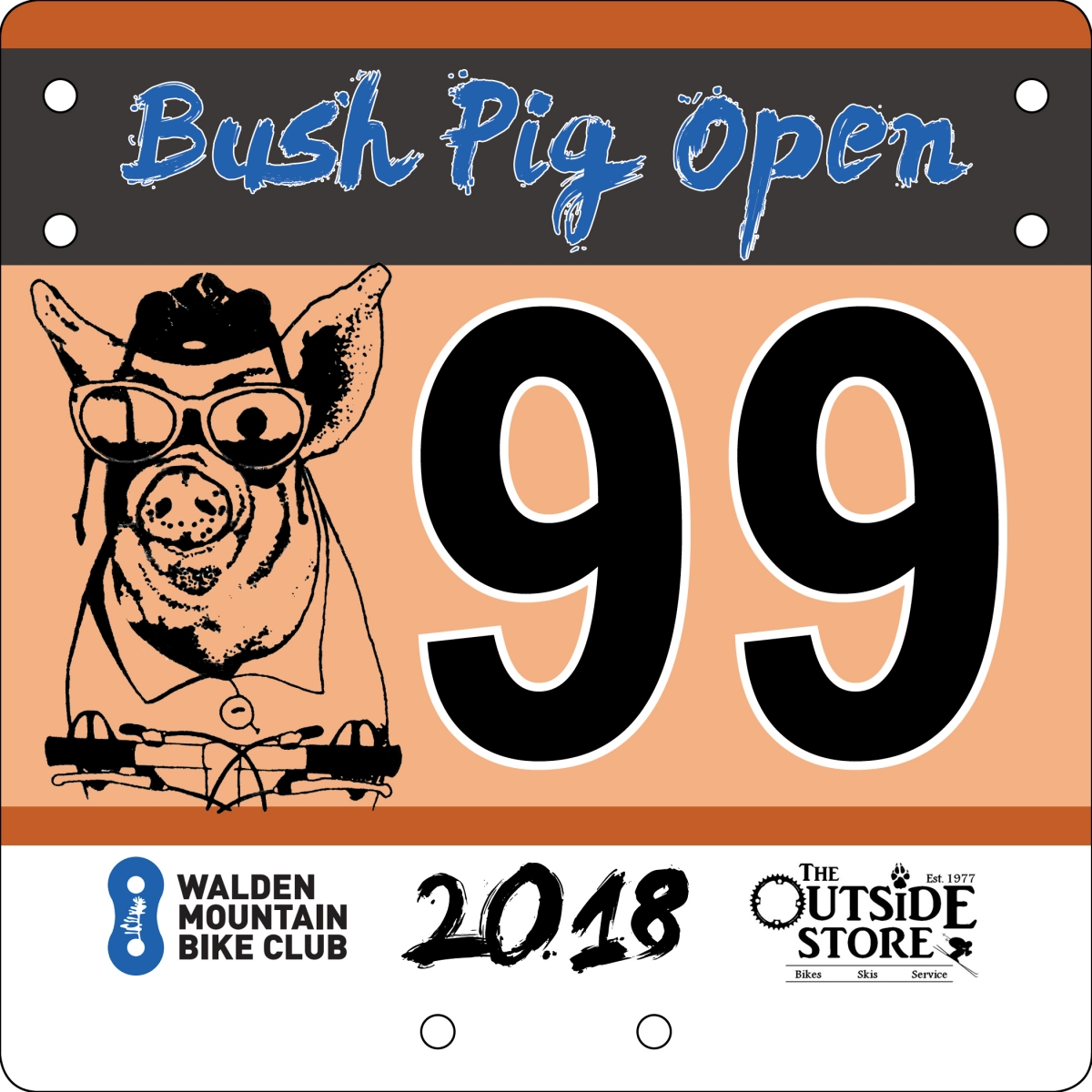 Bush Pig Open Evening Race - August