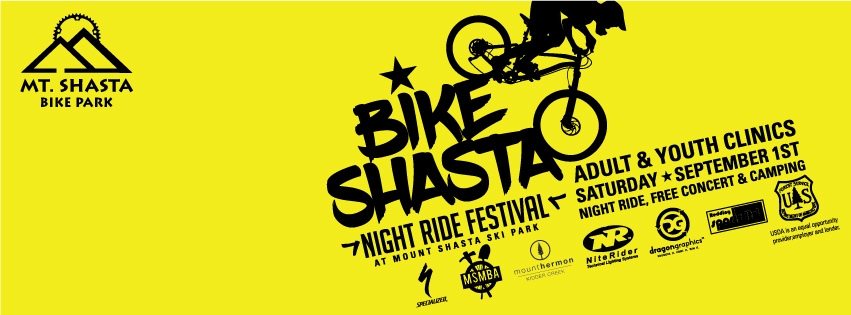 Bike Shasta Night Ride Festival