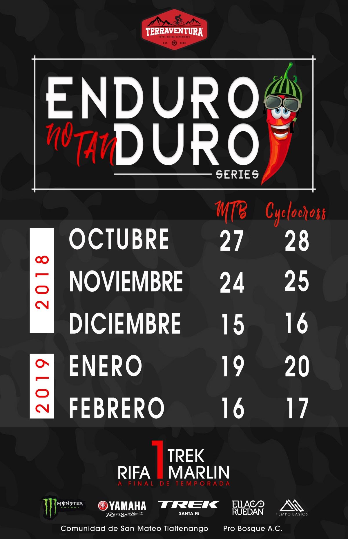 Enduro No Tan Duro, 24 Noviembre, 2do Round