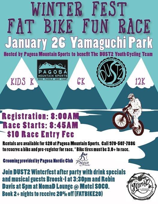 Winterfest Fat Bike Fun Race