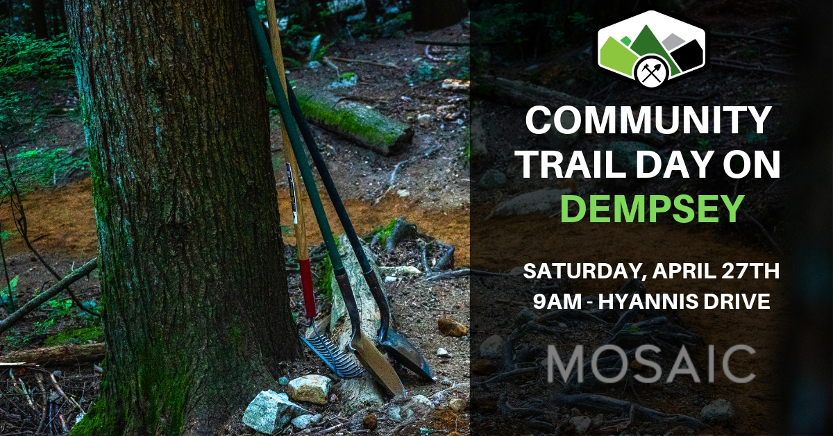 Community Trail Day on Dempsey