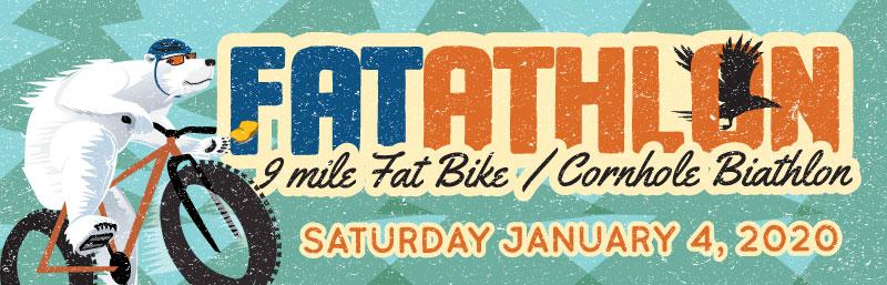 2020 Fatathlon 9 mile Fat Bike Ride & Cornhole Biathlon