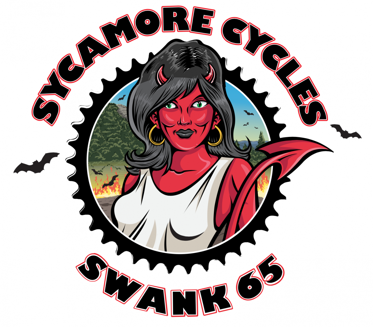 Sycamore Cycles Swank 65