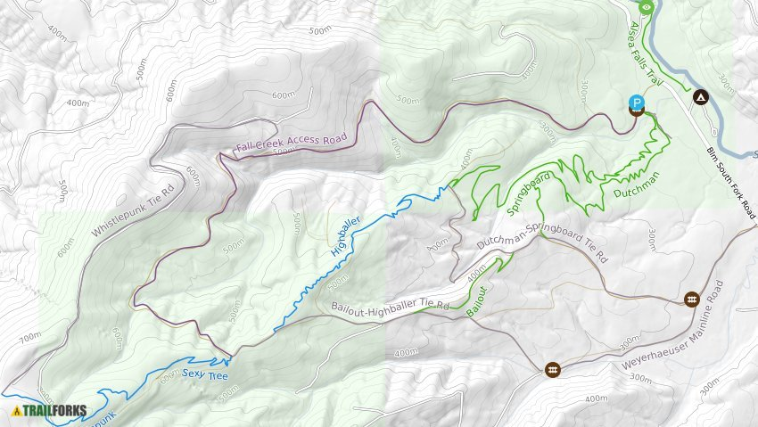 Alsea Oregon Map.Alsea Falls Mountain Biking Trails Trailforks