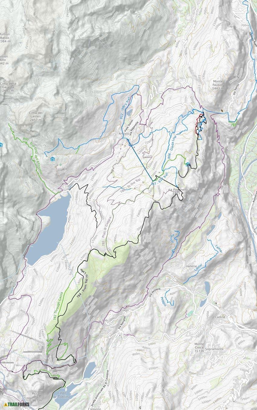 Andalo Italy Mountain Bike Trails Trailforks