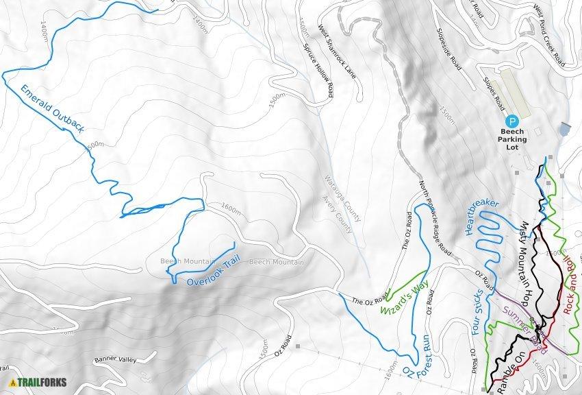 Banner Elk North Carolina Mountain Biking Trails Trailforks