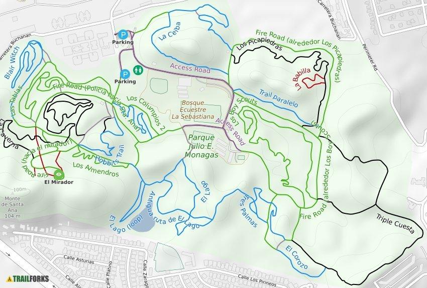 Bayamon Puerto Rico Mountain Bike Trails Trailforks