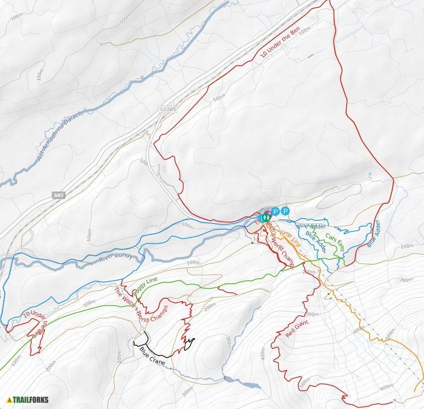 Lochaber Scotland Map.Fort William United Kingdom Mountain Biking Trails Trailforks