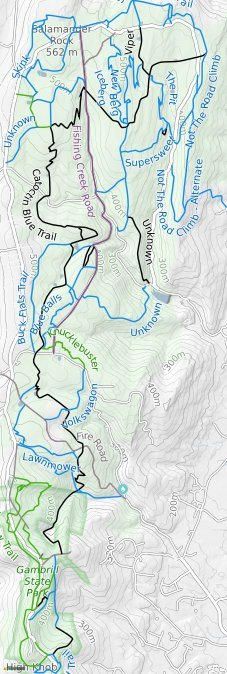Frederick Watershed Mountain Bike Trails Trailforks