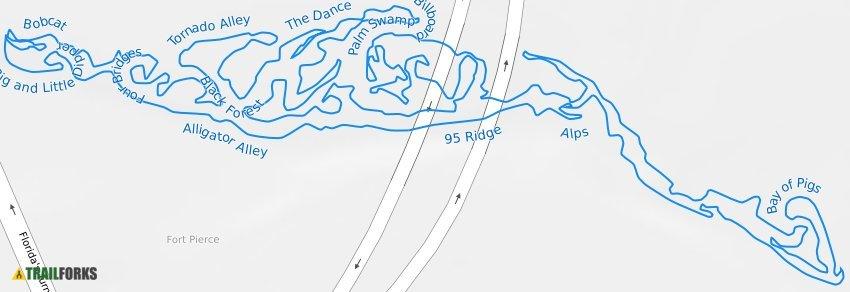 Ft Pierce Trails Port Saint Lucie Mountain Biking Trails