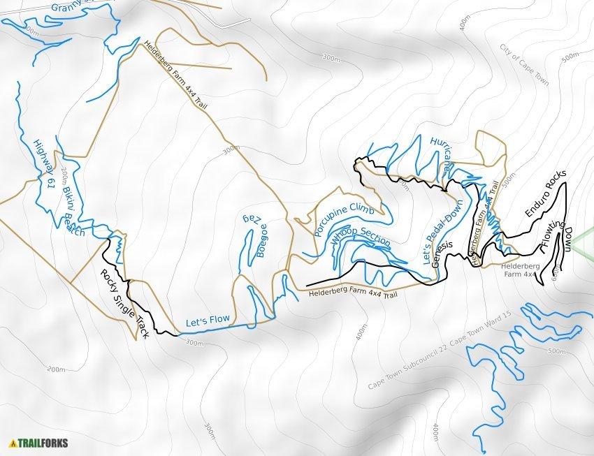 Helderberg Trails Mountain Bike Trails Trailforks