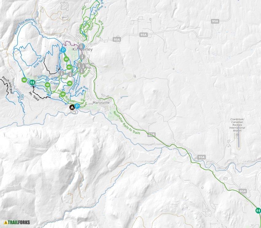 Kimberley, British Columbia Mountain Biking Trails   Trailforks on roberts creek bc map, saanichton bc map, south okanagan bc map, radium hot springs bc map, trail bc map, telegraph cove bc map, invermere bc map, duncan bc map, sidney bc map, comox bc map, burnaby bc map, langara island bc map, nelson bc map, kamloops bc map, tsawwassen bc map, edmonton bc map, princeton bc map, mission bc map, surrey bc map, west vancouver bc map,