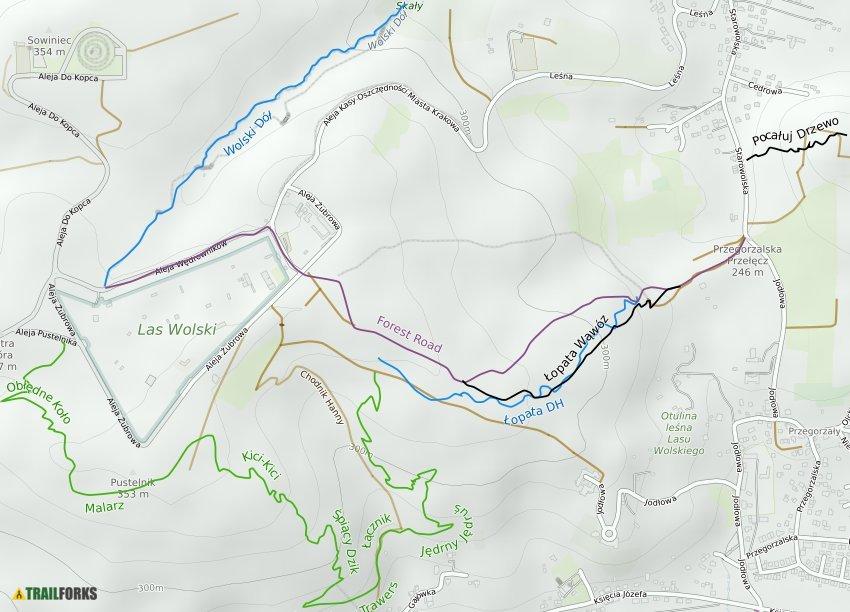 Las Wolski Mountain Biking Trails Trailforks
