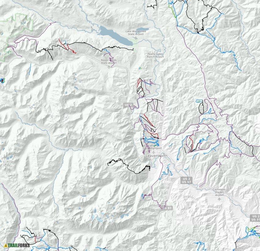 Leavenworth, Washington Mountain Bike Trails | Trailforks