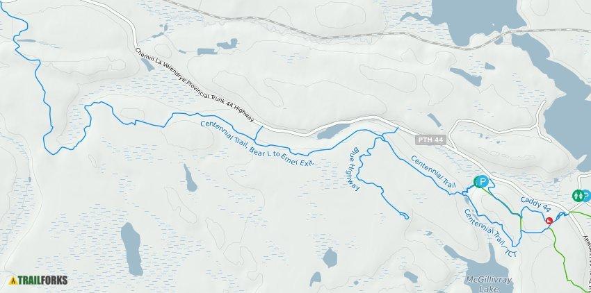 McGillivray Falls / Caddy Lake Mountain Biking Trails | Trailforks on