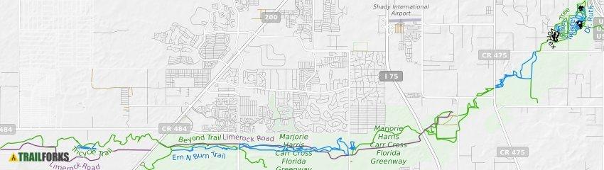 Map Of Ocala Florida.Ocala Florida Mountain Biking Trails Trailforks
