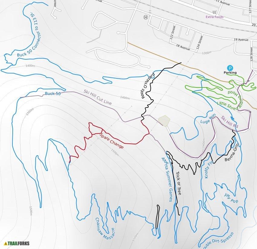 pass powderkeg mountain biking trails trailforks. Black Bedroom Furniture Sets. Home Design Ideas