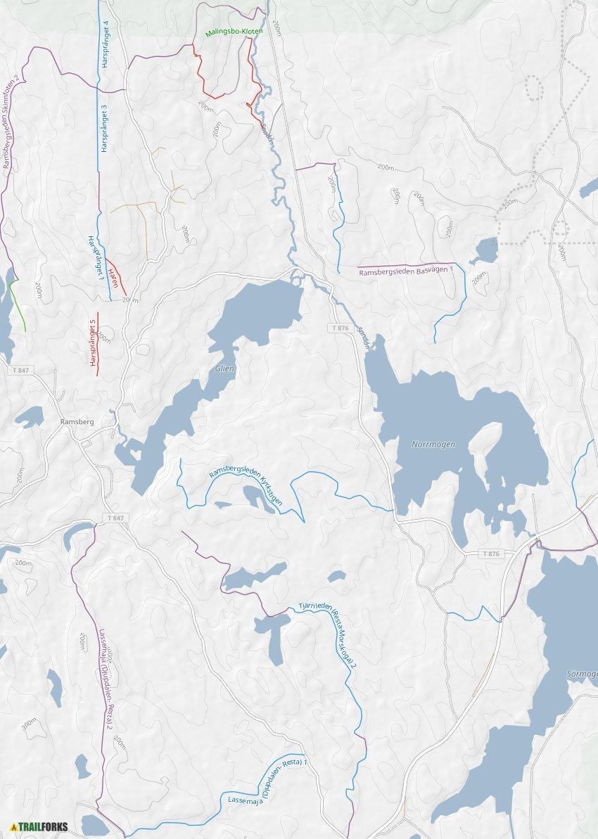 Gammelbo 730 Ramsberg karta - unam.net