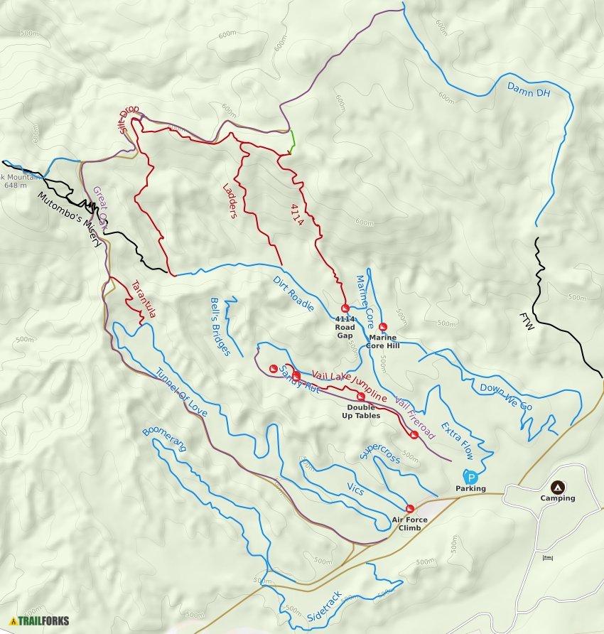 Temecula, California Mountain Biking Trails