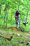 at Menilo Bike Park zone