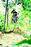 At Menilo Bike Park zone (jump session)