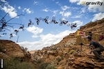 Flipping his way into history. 2nd Place 2013 Red Bull Rampage.