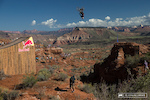 Jeff Herbertson's canyon backflip at RedBull Rampage 2014.