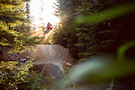 Golden hour laps on Dirt Merchant. Kyle supplying the goods with the big boost.