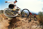 Steve Peat , nr Orgiva , Spain. Late 1990's/early 2000's.       pic copyright Steve Behr / Stockfile