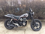 This 1982 Honda CB 650 Was Customized And Converted Into A Scrambler Heres List Of The Work Thats Been Done To It I Have All Paperwork Back