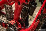 Keegan Wright's Devinci Spartan - Rock Shox Super Deluxe rear shock, and One Up chain guide