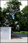 Throwing down a backflip on the jump box - Cubed Square Photography - Laurence CE