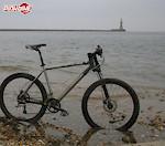 Cannondale f800 At Sunderland after coast to coast ride 01.08.04.  My xc bike.