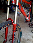 For Sale Is A 2002 Rock Shox Boxxer The Stanchions Are In Mint Condition And Seals Good No Leaking Lowers Have Normal Trail Rash