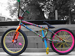 dope ass rainbow bike