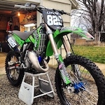 my buddies 125 he just finished building